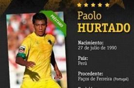 Paolo Hurtado: Peñarol publica ficha del peruano como nuevo refuerzo