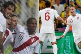 Perú e Inglaterra se enfrentarán por tercera vez en la historia