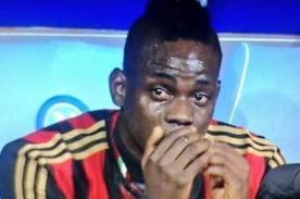 El llanto de Mario Balotelli tras la derrota de Clarence Seedorf – Video