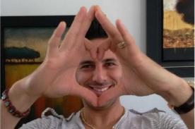 San Valentín: Claudio Pizarro compartió un cariñoso mensaje a sus fans - FOTO