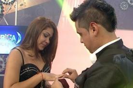 Lucho Cuéllar le pide matrimonio a joven de 21 años