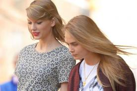 Taylor Swift y Cara salen de shopping a pesar de tener gustos opuestos