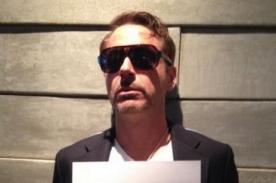 Robert Downey Jr. estrena y arrasa Twitter