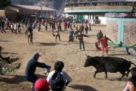 Semana Santa: Prohíben en Ayacucho salvaje tradición