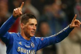 Chelsea vs Atlético de Madrid: Fernando Torres y el primer gol del encuentro - VIDEO
