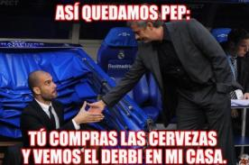 MEMES: Mourinho y Guardiola juntos para ver la final de Champions League - FOTOS