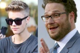Justin Bieber responde con sarcasmo a los ataques de Seth Rogen