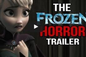Uy, qué miedo: Trailer de Frozen versión película de terror [Video]