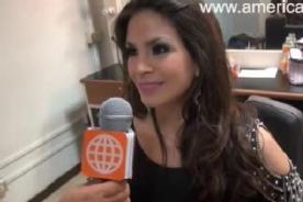 EEG: Sully Sáenz se pronuncia tras regresar al programa - Video