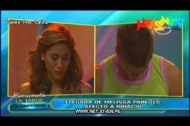 Melissa Paredes: Ignacio Baladán fue quien terminó la relación [VIDEO]