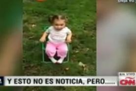 ¡Viral! Niñita dice tremenda lisura tras aceptar el #IceBucketChallenge [Video]