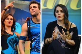 Angie Arizaga y Nicola Porcella: ¡Yidda Eslava no se traga el cuento y les recuerda todo! - FOTO