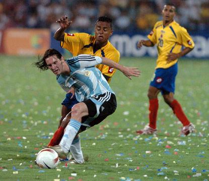 Copa América 2011: Argentina vs Colombia (0 - 0)  - Minuto a Minuto
