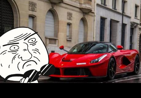 Llevan a niño en un 'Ferrari' al colegio y genera polémica en China