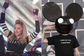 Deadmau5 acusa a Madonna de incitar el consumo de drogas