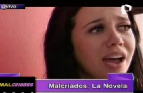 Video: Lucía Oxenford derrama lágrimas por amor frente a cámaras