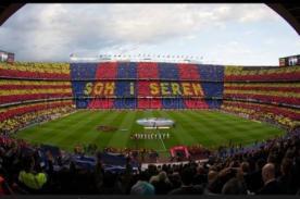 Barcelona vs Real Madrid: Así recibió el Camp Nou a los equipos - Video