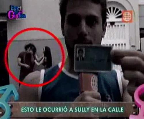 Fotos: Sully Sáenz jaló del cabello a sujeto que le agarró el trasero