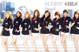 K-Pop: Girls Generation posan con el uniforme olímpico de Corea