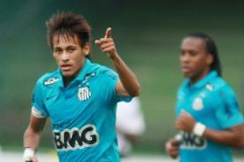 Video: Neymar marca 'golazo' en la victoria del Santos
