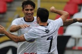 Video: Paolo Guerrero marcó su primer gol con el Corinthians