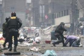 Fotos: Sorprendentes imágenes del operativo policial en La Parada