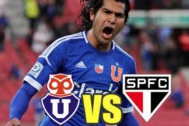 Goles del U. de Chile vs Sao Paulo (0-2) - Copa Sudamericana - Video