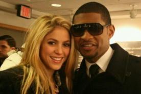 Usher sobre Shakira: No es conveniente discutir con una mujer latina