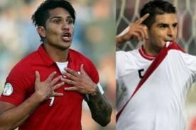 Perú vs. Chile: Jugadores ausentes celebran gol de Farfán