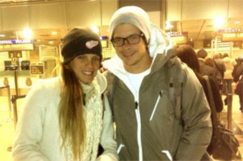 Foto: Mario Hart y Alejandra Baigorria ya se encuentran en Madrid
