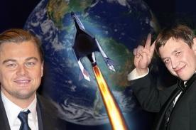 Ruso viajará por el espacio junto a Leonardo DiCaprio