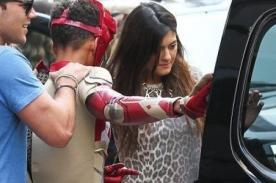Jaden Smith se disfrazó de Iron Man en salida con Kylie Jenner