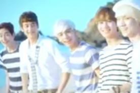 SHINee se luce en la playa para video japonés ''Boys Meet U'