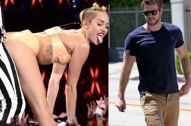 Liam Hemsworth avergonzado por actuación de Miley Cyrus en VMA