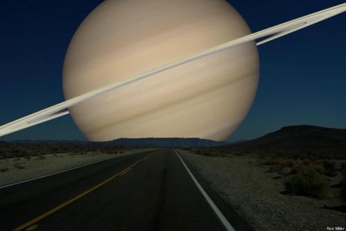 Fotos: Así se verían los planetas en el cielo terrestre