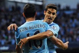Champions League: Sergio Aguero lidera victoria del Manchester City
