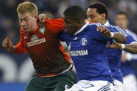 Schalke 04: Jefferson Farfán podría jugar mañana contra Werder Bremen
