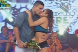 Esto es Guerra: Gino Assereto sorprende a Jazmín Pinedo en vivo