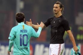 Zlatan Ibrahimovic: Si Messi está en el mercado, el PSG estará allí