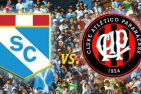 Copa Libertadores 2014: Sporting Cristal vs Paranaense -  Minuto a minuto