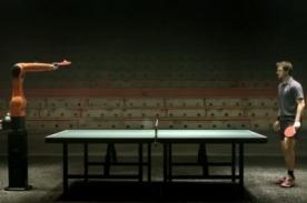Hombre vs máquina: Robot reta a campeón de tenis en inédito desafío - VIDEO