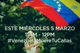 #VenezuelaMuereTuCallas: Tuiteros apoyan Venezuela con polémico hashtag