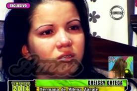 Hermana de Milena Zárate rompe su silencio entre lágrimas - Video