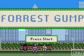 Así luciría Forrest Gump en un clásico videojuego de 8 bits [Video]