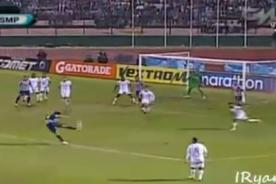 Video: Mira el golazo de Koichi Aparicio - Alianza Lima vs San Martín