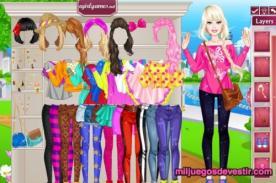 Friv juegos gratis: Fashion juegos de vestir a Barbie ¡Sé una princesa!