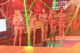 Combate: Mujeres del reality causan furor con desfile en bikini - VIDEO