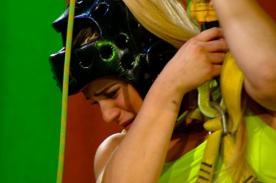 Combate: ¡Macarena Velez pasó un difícil momento que la llevó hasta las lágrimas! - VIDEO