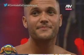 Combate: Fabio Agostini recibe terrible golpe de Andrea San Martín - VIDEO