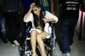 Yahaira Plasencia sufre terrible lesión y abandona así El Gran Show
